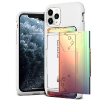 Чехол VRS Design Damda Glide Shield для iPhone 11 Pro White Orange - Purple