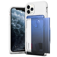 Чехол VRS Design Damda Glide Shield для iPhone 11 Pro White Blue - Black