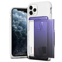 Чехол VRS Design Damda Glide Shield для iPhone 11 Pro White Purple - Black