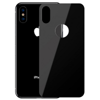 Стекло на крышку Baseus 0.3mm Full-glass Back Tempered Glass Film для iPhone Xs Черное